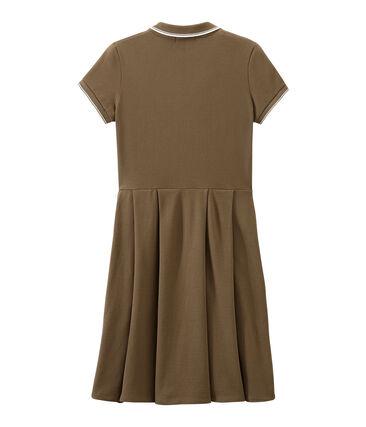 Kleid der Frau inspiriert das klassische polo