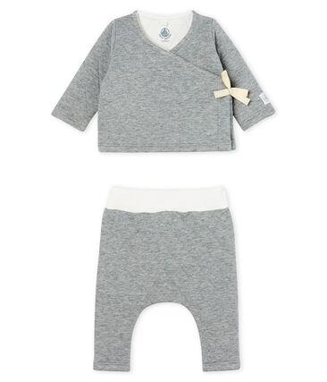2-teiliges Baby-Set aus gestepptem Doppeljersey