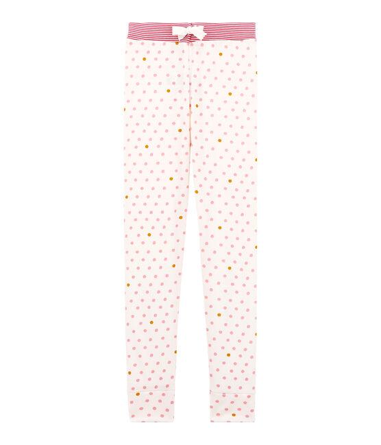 Mädchen Schlafanzughose weiss Marshmallow / weiss Multico