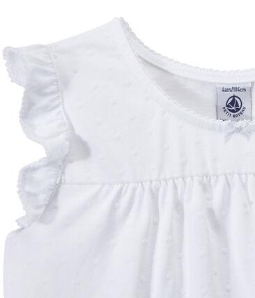 Kurzpyjama aus dünner Baumwolle für Mädchen