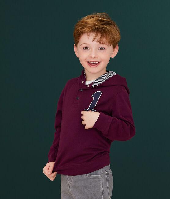 Kinder-T-Shirt mit Kapuze für Jungen CEPAGE