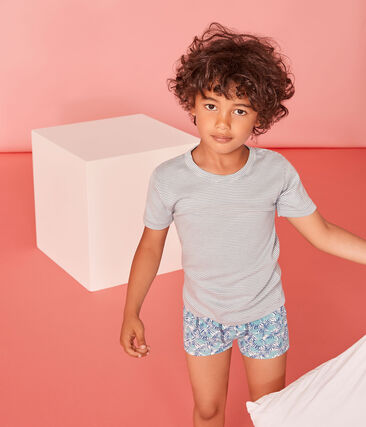 Duo aus kurzärmeligen T-Shirts für kleine Jungen