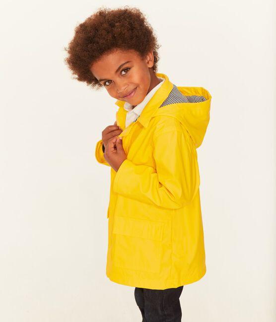 Kinder-Regenjacke, Mädchen - Jungen gelb Jaune