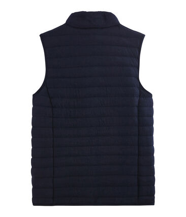 Ärmellose Daunenjacke aus Doppeljersey für Damen blau Smoking