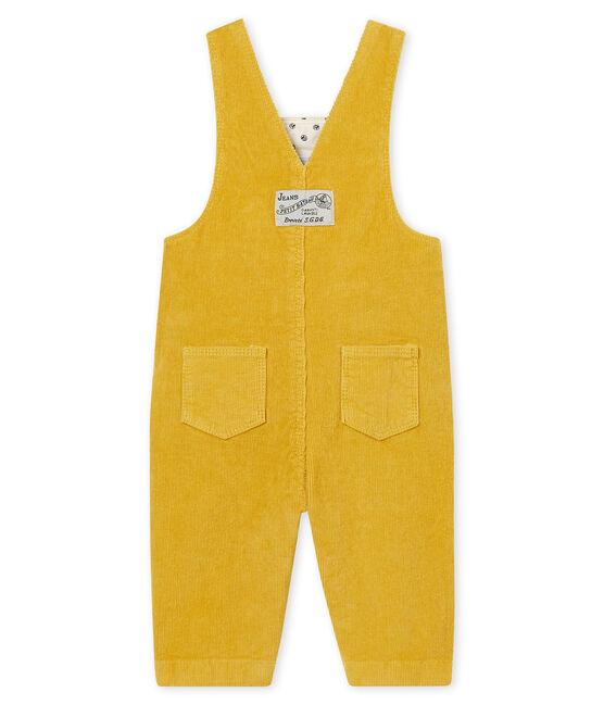 Baby Jungen Latzhose aus Nicki gelb Ocre