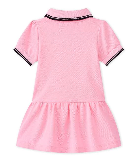 Baby Mädchen Kleid rosa Babylone