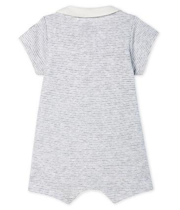 Kurzer Baby-Bodyjama aus Rippstrick