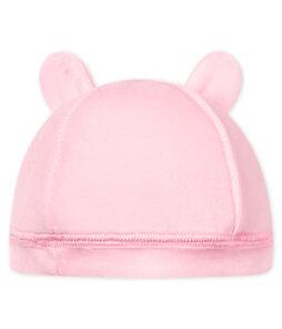Baby-mütze für neugeborene unisex aus samt