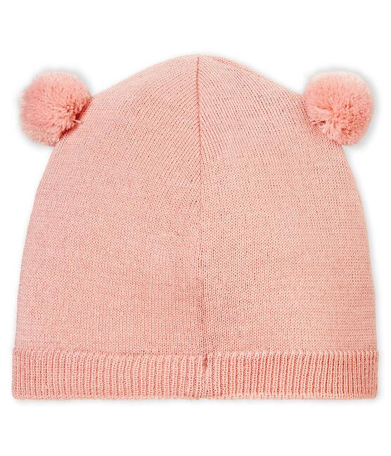 Unisex Baby Mütze rosa Joli