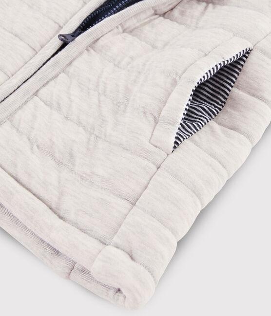 Ärmellose Jacke für Mädchen und Jungen grau Beluga