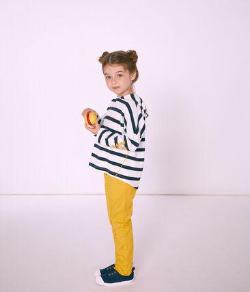 Kinder-Seemannshemd mit Kapuze Mädchen