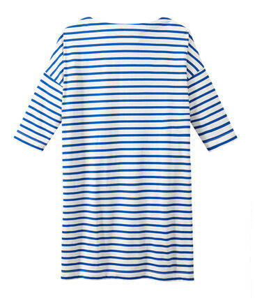 Gestreiftes Damen-Kleid
