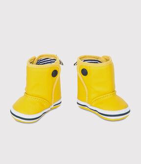 Baby-Regenstiefel gelb Jaune