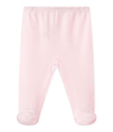 Baby-Hose mit Füßen für Mädchen
