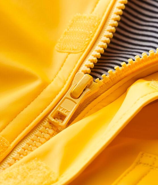 Ikonische Baby-Regenjacke Unisex gelb Jaune
