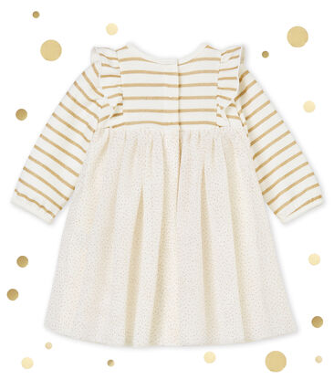 Baby MädchenKleid aus Tüll mit Paillettenbesatz