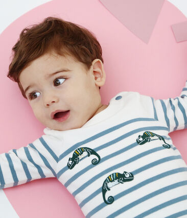 Baby-body im seemannslook jungen