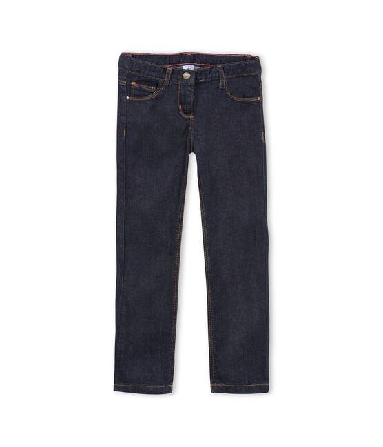Kinder-Denimhose Mädchen blau Jean