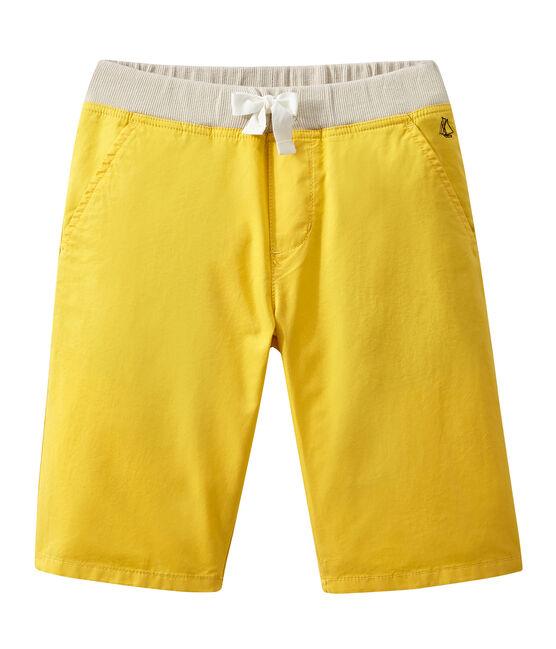 Jungen-Shorts gelb Ble