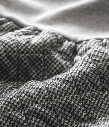 Baby MädchenKleid im Materialmix