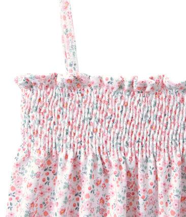 Bedrucktes gesmoktes Mädchen-Nachthemd
