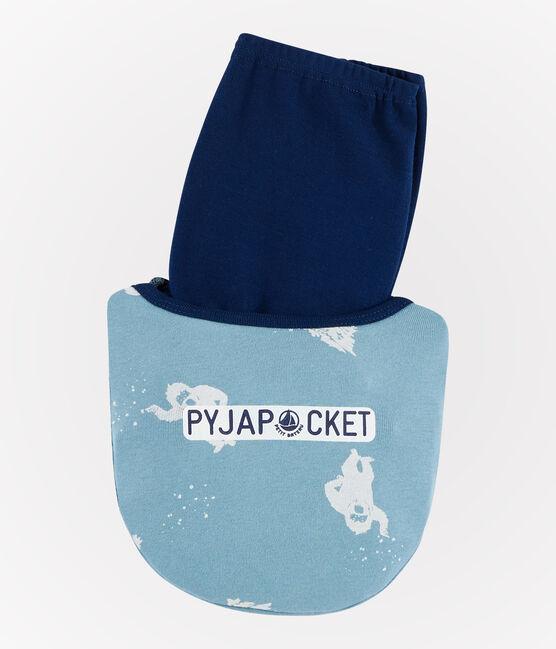2er-Set Pyjamas mit Rippenstruktur für kleine Jungen lot .