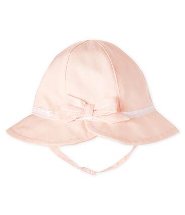 Einfarbiger Hut für Baby Mädchen