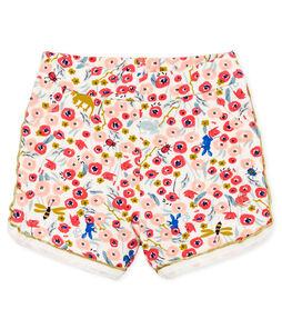 Gemusterte baby-shorts mädchen