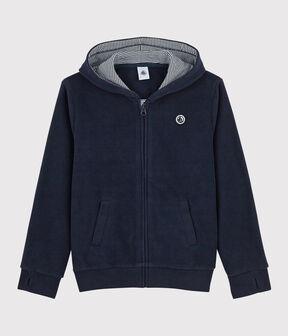 Kinder-Sweatshirt aus Fleece für Jungen SMOKING