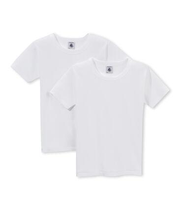 2er-Set kurzärmlige T-Shirts für Jungen