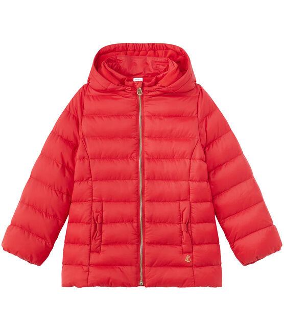 Jacke für Mädchen rot Terkuit