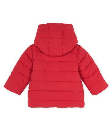 Baby-Jacke aus Mikrofaser für Jungen rot Terkuit