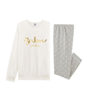 Samt-Pyjama für Mädchen