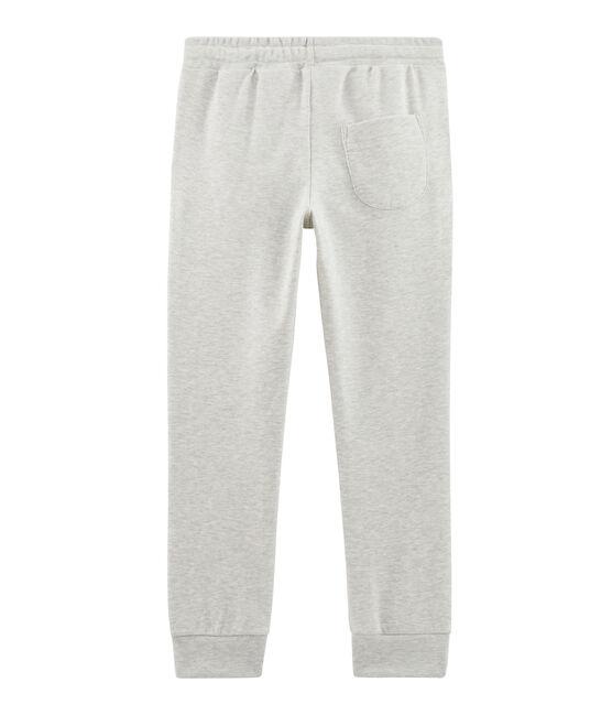 Kinder-Hose für Jungen grau Beluga