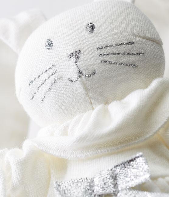 Edles baby-kuschelhäschen weiss Marshmallow