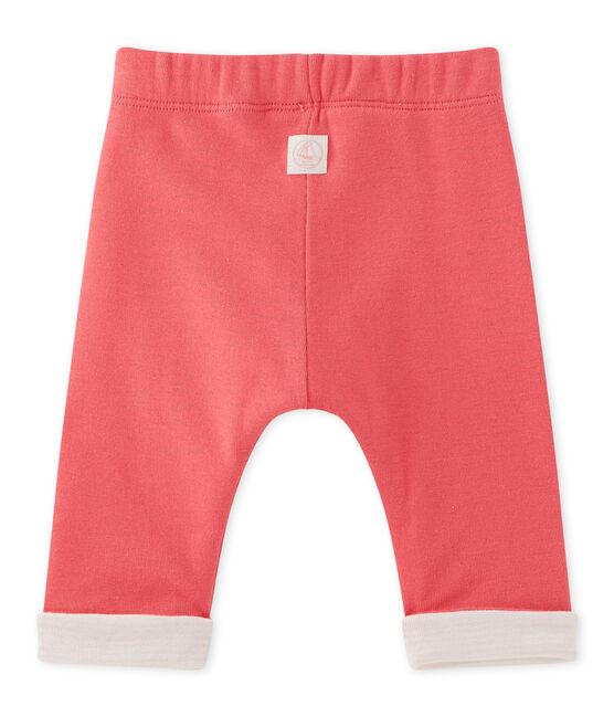 Wendbare Baby-Jungen-Hose rosa Gloss
