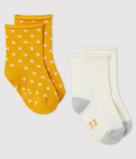 Set mit 2 Paar Baby-Socken lot .