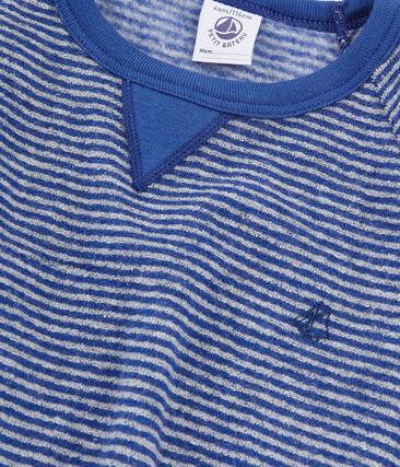 Pyjama aus angerautem, extra warmem Bouclé-Frottier für kleine Jungen