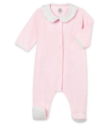 Baby MädchenStrampler aus Baumwoll Nicki in Uni
