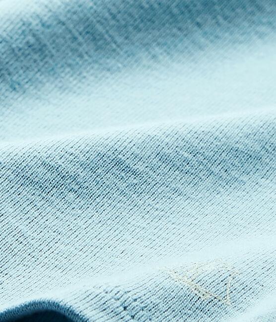Baby-Mädchen-T-Shirt blau Mimi