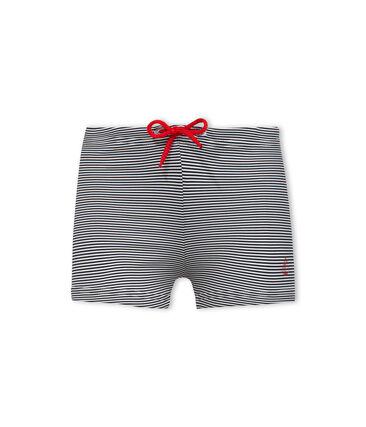 Baby-Badehose für Jungen mit Milleraies-Streifenmuster.