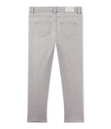 Graue Jungen-Jeans