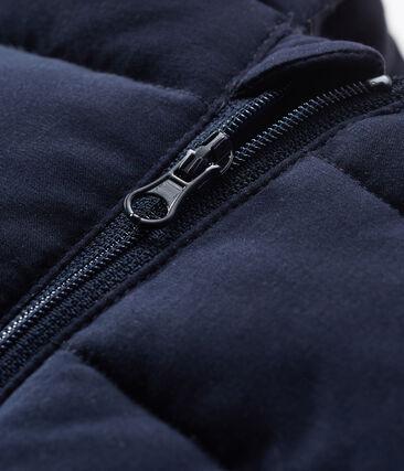 Baby-Jacke aus Mikrofaser für Jungen blau Smoking