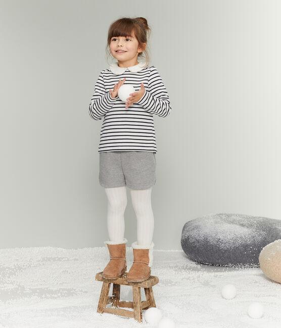 Kinder-Short Mädchen grau Subway