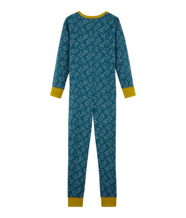 Langer Einteiler aus Baumwolle für kleine Jungen