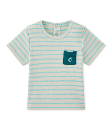 Gestreiftes Baby-Jungen-Kurzarmshirt