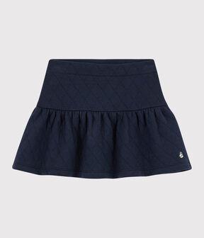 Kinder-Schlauchrock für Mädchen blau Smoking