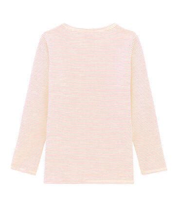 Langärmeliges T-Shirt aus Wolle und Baumwolle für Kinder