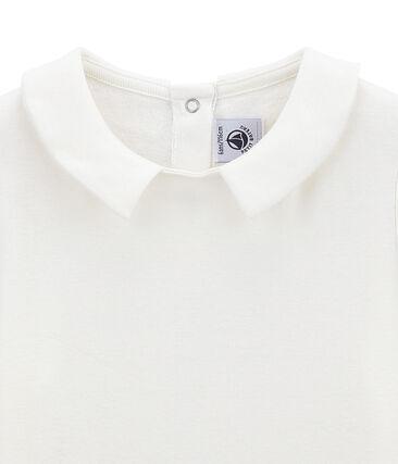 Mädchen tee-shirtmit Bubikragen