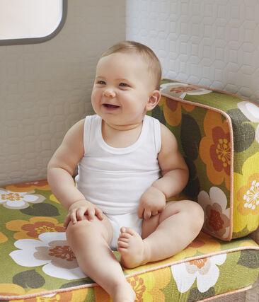 Duo aus ärmellosen Baby-Bodys für Jungen lot .